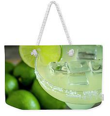 Weekender Tote Bag featuring the photograph Margaritas Anyone by Teri Virbickis