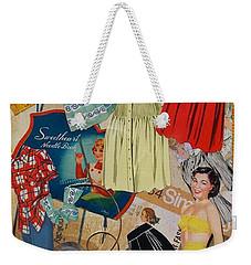 Margie Weekender Tote Bag by Virginia Coyle