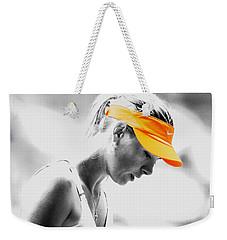 Maria Sharapova Stay Focused Weekender Tote Bag by Brian Reaves