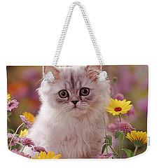 Marigold Chinchilla Weekender Tote Bag