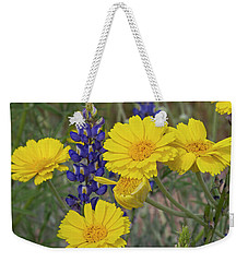 Marigolds And Lupines Weekender Tote Bag