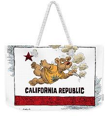 Marijuana Referendum In California Weekender Tote Bag