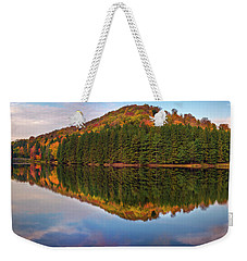 Weekender Tote Bag featuring the photograph Marilla Reservoir 2 by Mark Papke