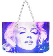 Marilyn Disco Retro Weekender Tote Bag
