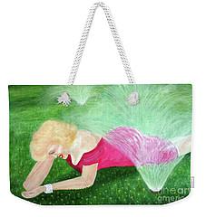 Marilyn Misted Weekender Tote Bag
