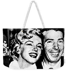 Marilyn Monroe And Joe Dimaggio 1950s Photos By Unknown Japanese Photographer Weekender Tote Bag