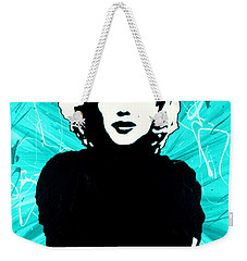 Marilyn Monroe Blue Green Aqua Tint Weekender Tote Bag