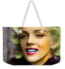Marilyn Monroe Weekender Tote Bag by Caito Junqueira