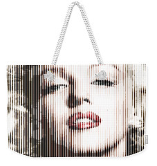 Marilyn Monroe - Colored Verticals Weekender Tote Bag