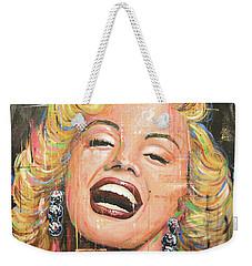 Marilyn Monroe Film Movie Actress Art Painting Weekender Tote Bag
