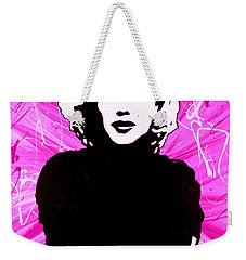 Marilyn Monroe In Hot Pink Weekender Tote Bag