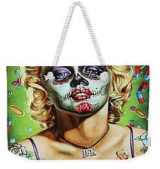 Marilyn Monroe Jfk Day Of The Dead  Weekender Tote Bag