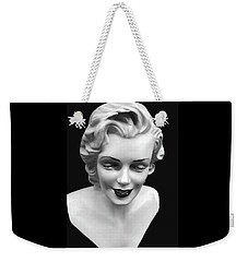 Weekender Tote Bag featuring the photograph Marilyn Monroe by JoAnn Lense