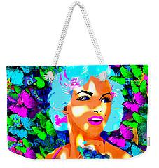 Marilyn Monroe Light And Butterflies Weekender Tote Bag