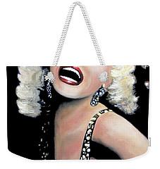Marilyn Monroe Weekender Tote Bag by Marti Green