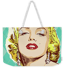 Marilyn Monroe Pop Art Weekender Tote Bag