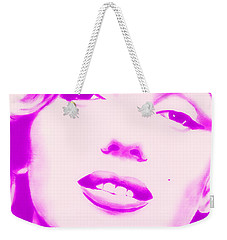 Marilyn Monroe, Purple And Pink Weekender Tote Bag