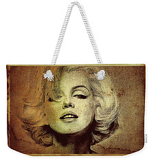 Marilyn Monroe Star Weekender Tote Bag