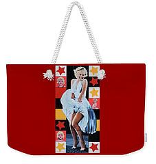 Marilyn Monroe The Star Weekender Tote Bag