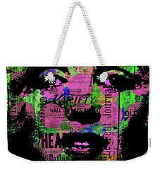 Marilyn Polk Dot Bubble Wrap Pop Art Painting Abstract Robert R Weekender Tote Bag