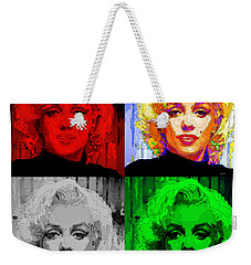 Marilyn Monroe - Quad. Pop Art Weekender Tote Bag