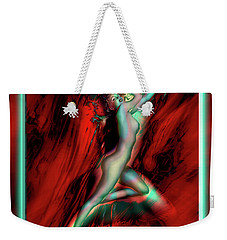 Marilyn's Rose Weekender Tote Bag