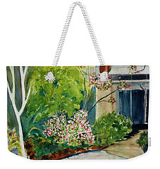 Marin Art And Garden Center Weekender Tote Bag by Tom Simmons