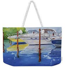 Marina Afternoon Weekender Tote Bag