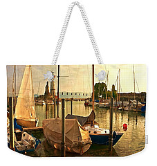 Marina At Golden Light - Digital Paint Weekender Tote Bag