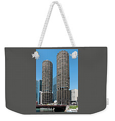 Marina City Weekender Tote Bag