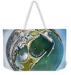 Weekender Tote Bag featuring the photograph Marina by Randy Scherkenbach