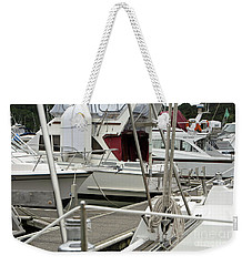 Marina Stuff Weekender Tote Bag by Yurix Sardinelly