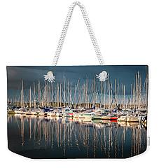 Marina Sunset 4 Weekender Tote Bag