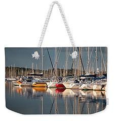 Marina Sunset 8 Weekender Tote Bag