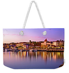 Weekender Tote Bag featuring the photograph Marina Sunset, Mindarie by Dave Catley