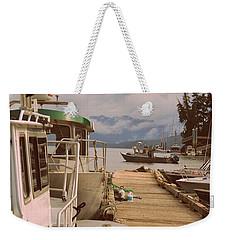 Marina View Weekender Tote Bag