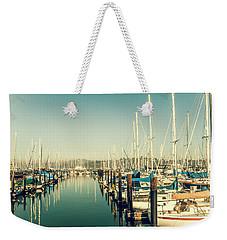 Marinaside Sausalito California Weekender Tote Bag
