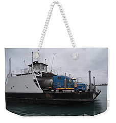 Marine City Mich Car Truck Ferry Weekender Tote Bag