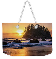Marine Layer Sunset At Trinidad, California Weekender Tote Bag