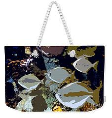 Marine Life Weekender Tote Bag by David Lee Thompson