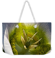 Mariposa Lily Weekender Tote Bag by Alana Thrower