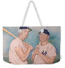 Maris And Mantle Weekender Tote Bag by Nigel Wynter