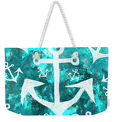 Maritime Anchor Art Weekender Tote Bag
