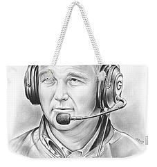 Mark Richt  Weekender Tote Bag by Greg Joens