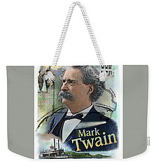 Mark Twain Weekender Tote Bag