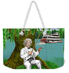 Mark Twain On The Mississippi Weekender Tote Bag