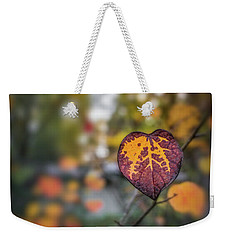 Weekender Tote Bag featuring the photograph Marked by Gene Garnace