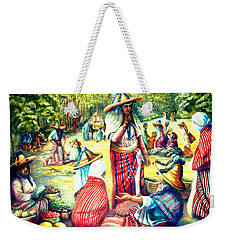 Market At Chefchaoen Morocco Weekender Tote Bag