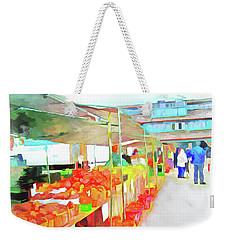 Market Day Weekender Tote Bag