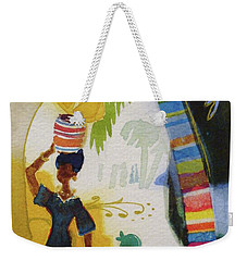 Market Day Weekender Tote Bag by Marilyn Jacobson